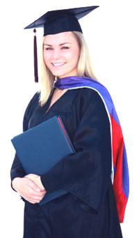 graduate nurse with BSN degree