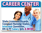 career information for rns and pts